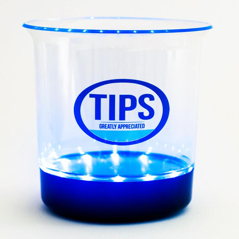 Tip Spin - LED Tip Jar - Electronic Tip Jar